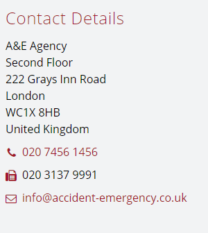 Contact us at A&E Agency