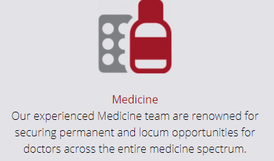 Medicine - Our experienced Medicine team are renowned for securing permanent and locum opportunities for doctors across the entire medicine spectrum.