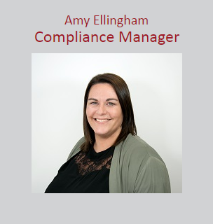 Amy Ellingham - Compliance Manager