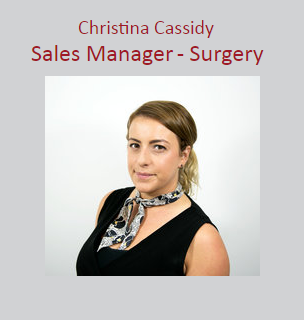 Christina Cassidy - Sales Manager - Surgery
